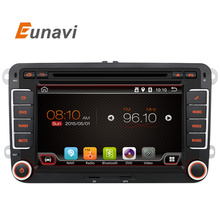 2 Din Android 6.0 VW Car Audio DVD Player GPS For GOLF 6 Polo Bora JETTA B6 PASSAT Tiguan SKODA OCTAVIA 3G OBD