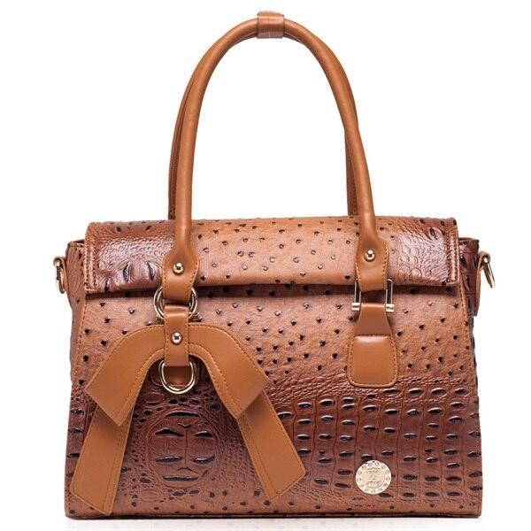 New ostrich pattern women handbag crossbody bag fashion shoulder bag hot sale bolsas top PU leather women messenger bags 2015<br>