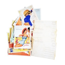 6packs/lot Vintage Old memory Postcard Fashion Christmas Gift Postcard Greeting Card Lovely Greeting Cards Wholesale