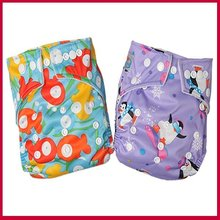 Manufacturer Babyland Cloth Baby Diaper 50pcs+50pcs Microfiber inserts Factory price(China)