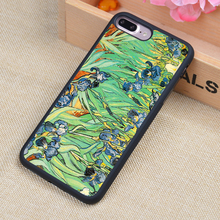 van gogh Puzzle Style Printed Soft Rubber Phone Cases For iPhone 6 6S Plus 7 7 Plus 5 5S 5C SE 4 4S Back Cover Skin Shell