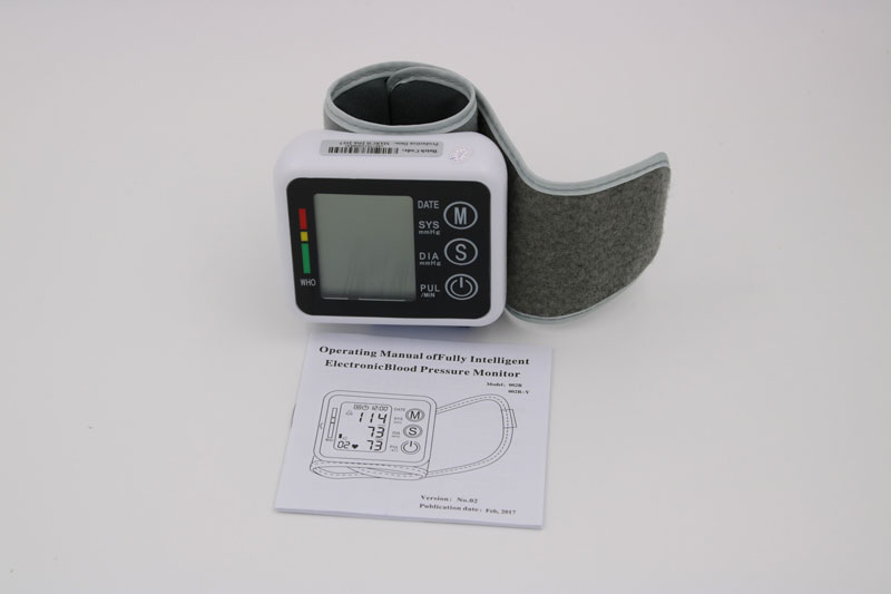 Household Health Care Germany Chip Automatic Wrist Digital Blood Pressure Monitor Tonometer Meter For Measuring And Pulse Rate 20