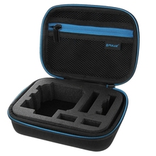PULUZ EVA Video Bags Shockproof Protective Accessories Storage Carry Case Waterproof for Gopro Hero5 Hero 4 Sports Action Camera(China)