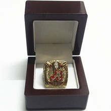 Size 6 To 15! NCAA 2015 Alabama Crimson Tide Football National Championship Ring Replica SABAN Wooden Box Drop Shipping