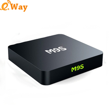 M9S X1 android 6.0 smart tv RAM 1G ROM 8G Octa Core TV Box Amlogic S905x 16.1 KDI 4k2k Output Streaming Media Player PK X96
