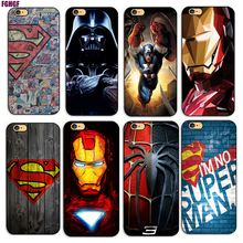 Deadpool/iron Man/ Marvel Avengers KingKong Star Wars Phone Hard Plastic Case Cover For Apple iPhone 4s/5s/se/5c/7/6s7plus/8 8p(China)