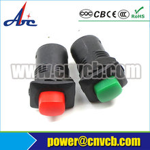 NS129 CGC 12.5mm Momentary OFF-(ON) DS-225 push button switch2 pin push button switch(China)