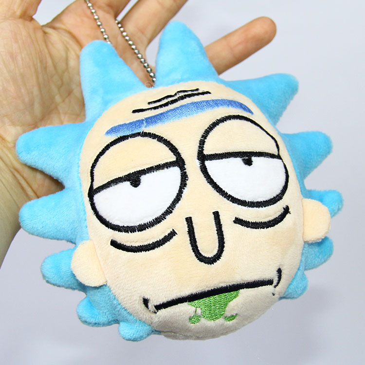 Rick Sanchez Stuffed Plush Keychain