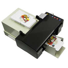Hot Sales Digital CD Printer DVD Disc Printing Machine PVC Card Printers for Epson L800 with 51pcs CD/PVC Tray with high quality(China)