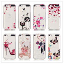 12 Types Crystal Clear For Apple iPod Touch 5 Phone Cases Soft TPU Silicone Painting Protective Case Cover For iPod Touch5 5G(China)