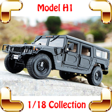 New Year Gift H1 1/18 Huge Truck Model Car SUV Strong Design Metal Vehicle Collection Pro Car Fans Present Jeep Toys Present(China)