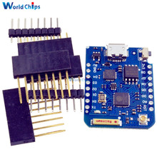 Wemos D1 Mini Pro NodeMcu 16M Bytes Antenna Connector Wifi Internet of Things Development Board Module Based ESP8266 ESP-8266EX