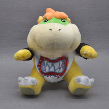 "Free Shipping EMS 100/Lot Super Mario Brothers 6"" Bowser JR Plush Doll Soft for kids Figure"