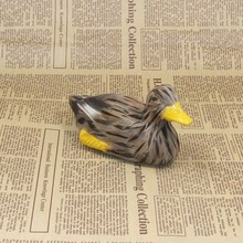 small cute simulation duck toy lifelike duck doll home decoration gift about 15x7cm(China)