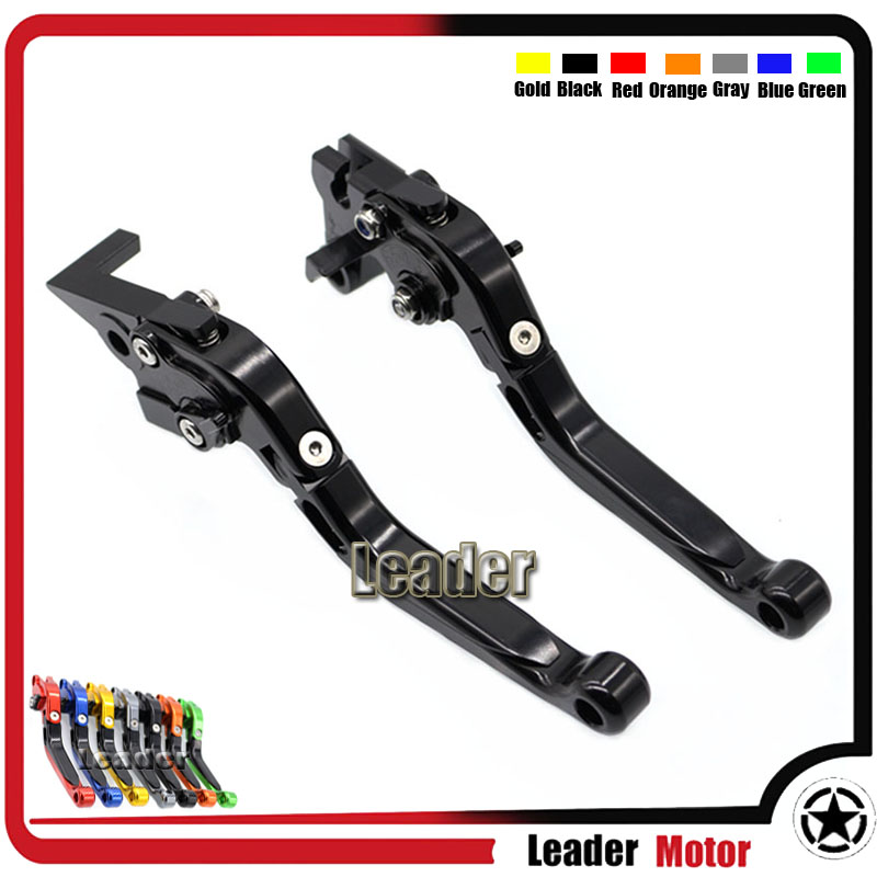 For YAMAHA MT-10 MT10 2015-2017 Motorcycle Folding Extendable Brake Clutch Levers Blaack<br><br>Aliexpress