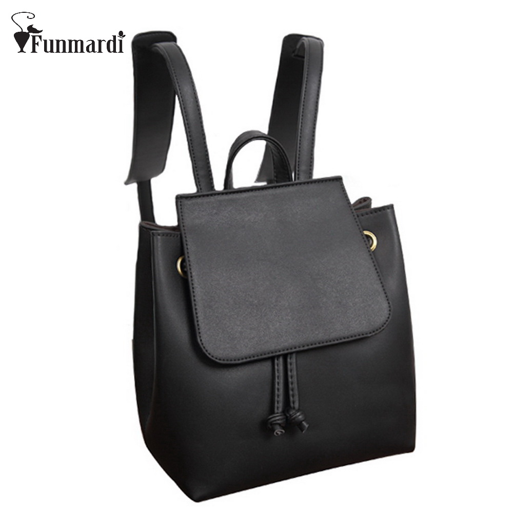 New arrival vintage PU leather backpack simple style leather women bag fashion brand design travel bag school bag WLHB1191<br><br>Aliexpress