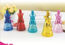 100pcs Model shape 10 ml glass perfume spray bottle ,empty bulk perfume spray bottle 10ML , 2014 art glass perfume bottle(China)