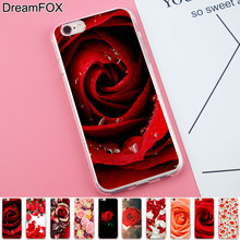 Buy DREAMFOX K180 rosas de color Soft TPU Silicone Case Cover Apple iPhone 8 X 7 6 6S Plus 5 5S SE 5C 4 4S for $1.29 in AliExpress store