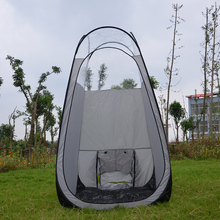 3pcs/lot!Sunless Silver grey color pop up Spray Tanning tent with PVC roof/top quality popular in European & American market(China)