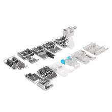 11 pcs/set Multifunction Sewing Machine Feet Presser Foot Spare Parts Janome Sewing Tools & Accessory(China)