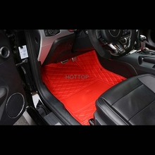 For Ford Mustang 2017 2 doors 2.3 T Car Floor Mats Customized Foot Rugs Custom Carpets Car Styling Black RED