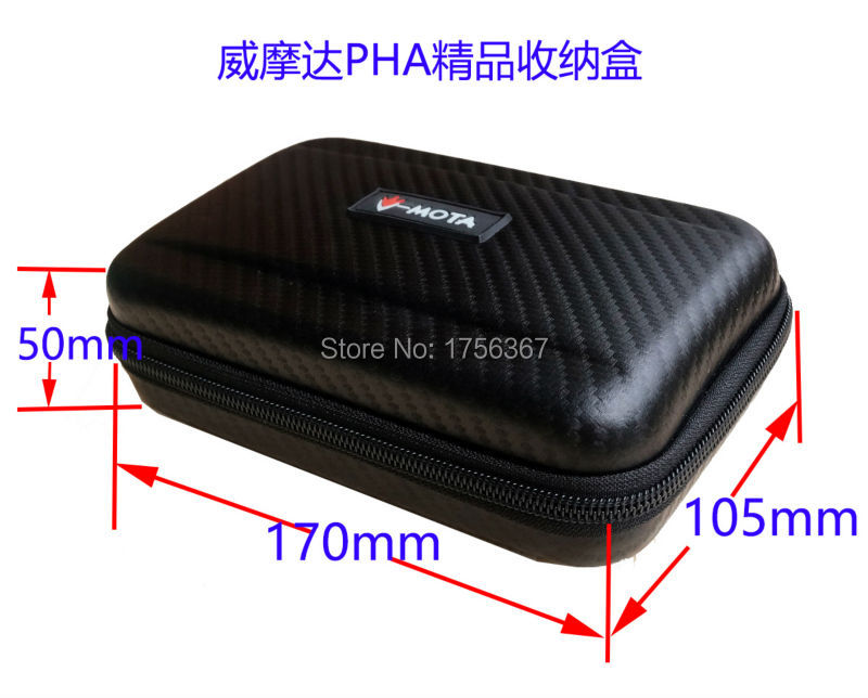 V-MOTA PHA Headphone Carry case boxs For Sony PCM-D100/PCM-D50 High Resolution Portable Stereo Recorder Headphone amplifier pack