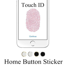 GAQOU Latest Colorful Home Button DIY Sticker Aluminium Metal Round For iPhone 5S 6 6s Plus 7 7Plus Supporting Touch ID
