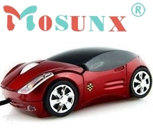 Mosunx Beautiful Gift 100% Brand New Fashion Car Shape USB 3D Optical Mouse Mice For PC/Laptop Wholesale price Dec17