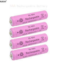 10pcs/lot AAA 1600mAh NI-MH 1.2V Rechargeable Battery AAA Battery 3A rechargeable battery NI-MH battery for camera,toys