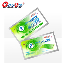 Onuge Brand 14 Pouch 4D Brightening White Teeth Whitening Strips Dry Dental Care Tooth Bleaching Waterproof Advanced 2 Hours