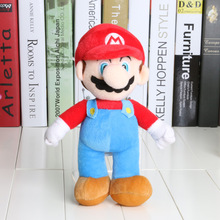 10pcs/set 25cm Super Mario plush dolls Super Mario Soft Plush Mario Luigi mario bros plush toys Christmas birthday gifts