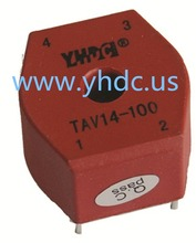 Free shipping YHDC TAV14 Voltage 380V Current 5mA/5mA 1500:1500 PCB Welding Mini Current Voltage Transformer(China)
