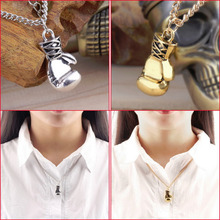 3D Boxing Glove Pendant Necklace Men Boy Box Chain Necklaces Rocky Ali Charm Jewelry Accessories Necklace For Man Y3