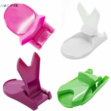 NAI YUE 2016 New Arrival 1Piece Hot Selling Useful Foldable Plastic Kitchen Pot Pan Cover Lid Shell Stand Holder