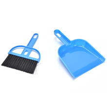 Home Cleaning lovely pet Mini Desktop Sweep Cleaning Brush Small Broom Dustpan Set 7.08*4.52''(China)