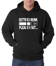 Funny Hoodies Getting Drunk Beer Funny Men Sweatshirts 2016 Autumn Winter New Warm Fleece High Quality Tracksuit Hoody For Adult