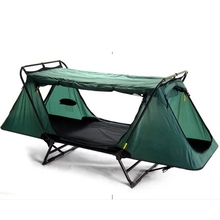 One Adult and One Children Outdoor Camping Folding Tent Waterproof Roof Tent Bed