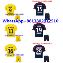 2017 ADULT KIT 2018 PSG THAI AAA TOP QUALITY BEST QUALIT MEN SOCCER JERSEY 17 18 PSG HOME BLUE AWAY RED 3RD WHITE SHIRT(China)