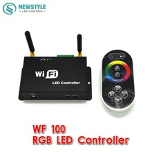 WF100,RGB LED controller Iphone Android mobile phone WIFI remote controller dimmer color temperature adjusting(China)