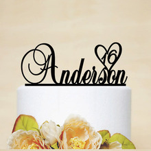 Custom Name Birthday Cake Topper Baby Shower Birthday Party Decoration Kids Casamento Personalized Birthday Cake Toppers Favor