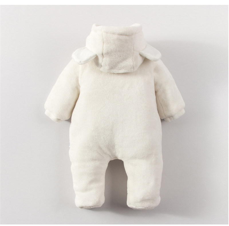 New Arrival !Autumn and Winter Baby Boy&Girl Clothes Newborn Cartoon Animal Outwear Clothing Baby Warm Jumpsuit Free Drop Ship07