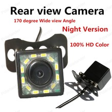 best selling 170 degree Wide view Angle 100% HD CCD Color Reverse Drive Rear view Camera Night Version