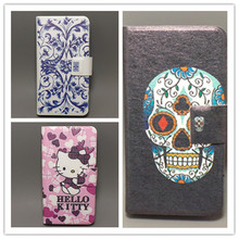10 species pattern Flower Flag design Flip cover for HTC G8 wildfire A3333 A3336 A3380 Cellphone Case Freeshipping