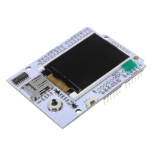 Free Shipping 1.8 Inch TFT Full Color LCD Extension Plate W/MICROSD AND JOYSTICK