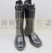 Final Fantasy VII FF7 Zack Fair cosplay Shoes Boots Custom Made 9145(China)