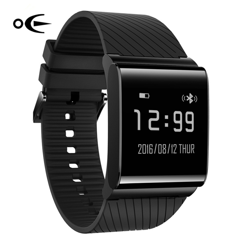 Sport Watches Men Watches X9 Plus 2017 Black Blood Pressure Monitoring OLED Watch Men Heart Rate Smart Watch Android &amp; IOS Phone<br>