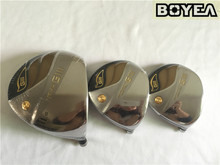 Boyea GIII Wood Set Silver GIII Golf Woods Golf Clubs Driver +Fairway Woods R/S Flex Graphite Shaft With Head Cover