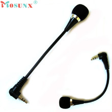 Adroit Portable Mini 3.5mm Jack Flexible Mic Microphone For PC Laptop Notebook MAY4