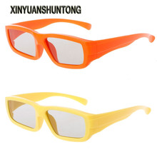 XINYUANSHUNTONG 3D Glasses Children Size Circular Polarized Passive 3D Glasses For Real D 3D TV Cinema Movie(China)