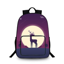 BAOBEIKU Anime illustrations 3D Backpacks Creative Printing Cool Children SchoolBags For Girls Boys Men Book Bag Kids Bags(China)